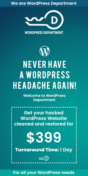 Wordpress Department
